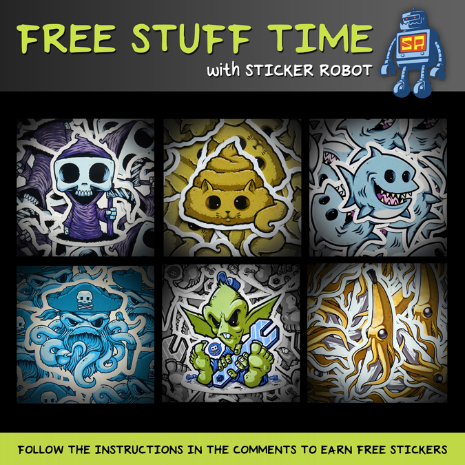 freeStuffTime_withStickerRobot