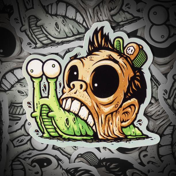 Zombie Snail Sticker Chump Magic