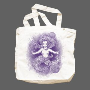 Far Our Mermaid Tote Bag