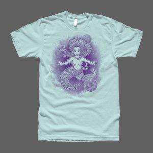 Far Our Mermaid Women Shirt2