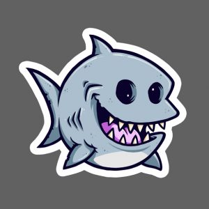 Fat Shark Sticker