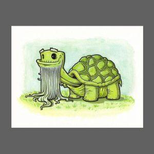 Old Turtle Print