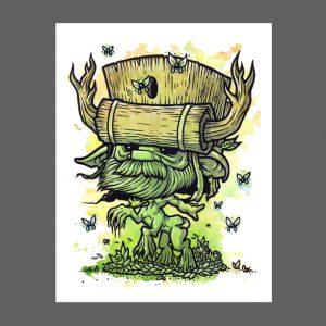 Wisp Hive Print